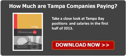 2013 Mid-Year Hiring Report Tampa Bay Hiregy