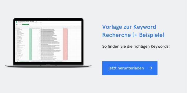 Keyword Recherche Template