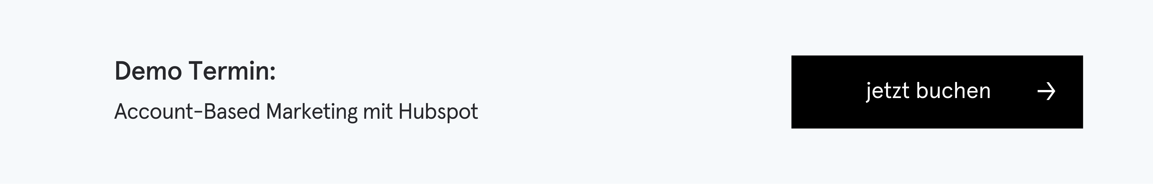 Demo-Termin: Account-Based Marketing mit HubSpot