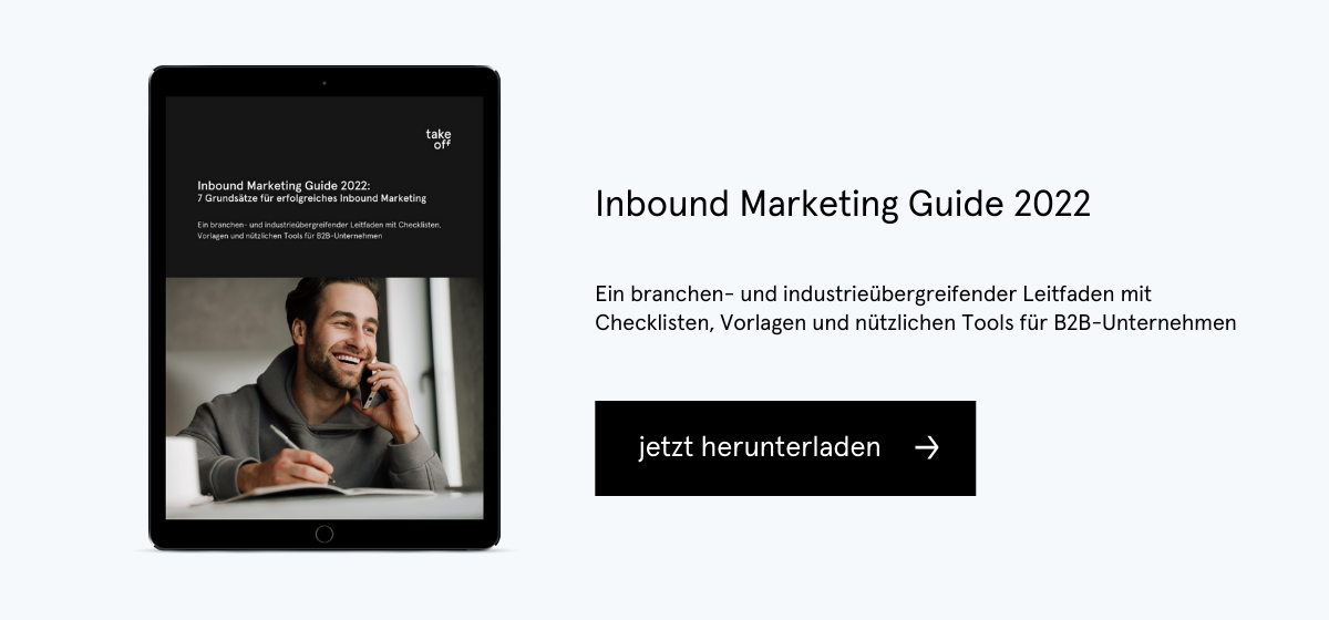 Content Marketing Guide für CEOs