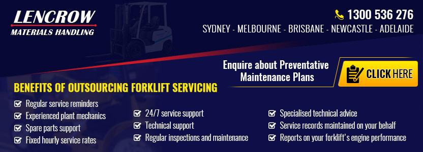 Enquire About Forklift Service