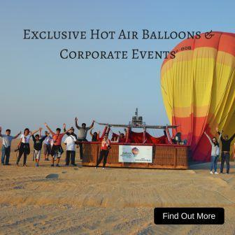 Corporate Hot Air Balloon Dubai