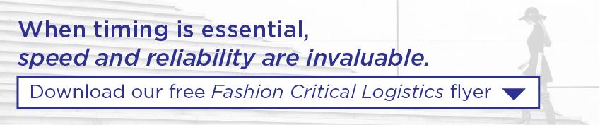 Fashion Critical Logistics