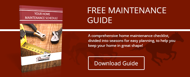 click here to download the Home Maintenance Schedule free checklist