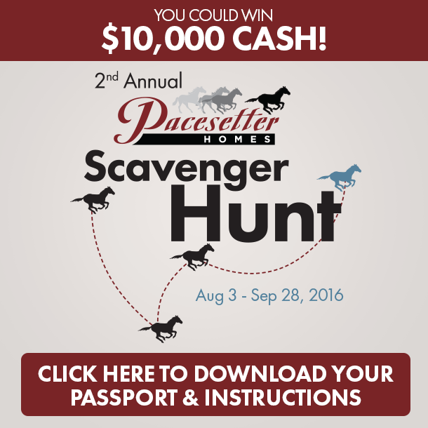 Pacesetter Homes 2016 Scavenger Hunt
