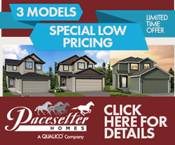 Pacesetter Homes Special Model Pricing