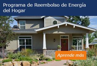 Home Energy Rebates Program