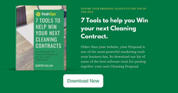 7 tools to help you win more cleaning contracts