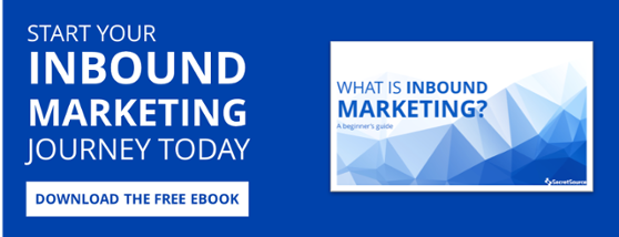 Start your inbound marketing journey today: download the free ebook.