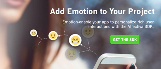 download emotion SDK to emotion enable your project