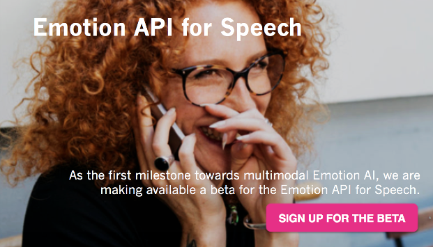 Emotion API for Speech Beta