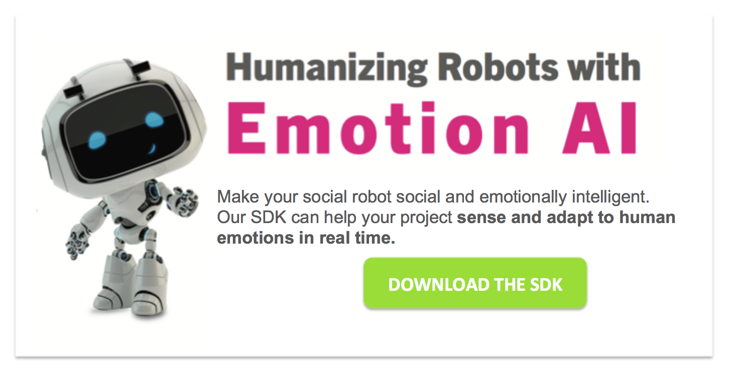 emotion recognition technology for robots