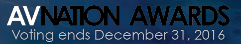 AVNation Awards, Nominations open until November 30, 2016.