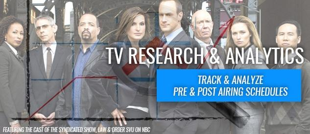 TV Research & Analytics- Track & Analyze Pre & Post Airing Schedules