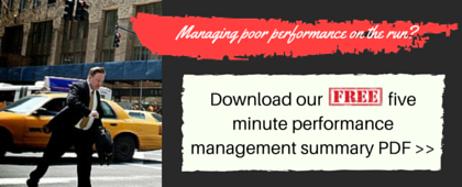 Managing poor performance 5 min summary slideshare