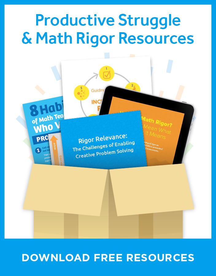 Free Math Rigor Resources