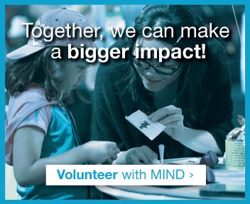 Volunteer with MIND