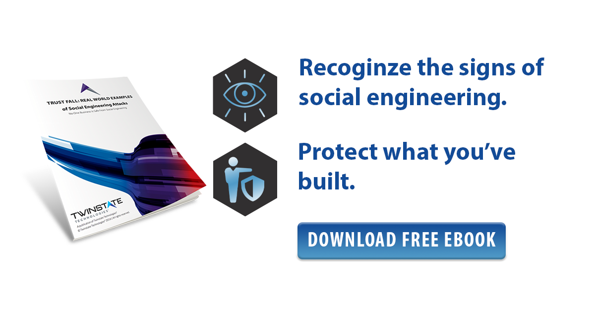 Call-to-Action | ebook | click to download our social engineering ebook