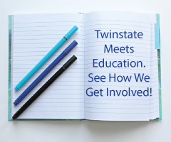 Twinstate Supports Education