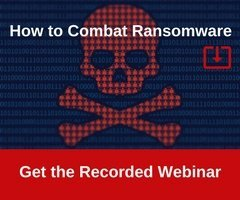 Red Skull to represent ransomware and how to combat it webinar recording