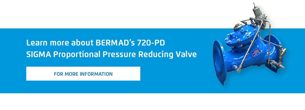 Learn more about BERMAD's 720-PD SIGMA Proportional Pressure Reducing Valve