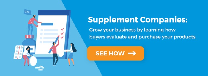 dietary supplements marketing