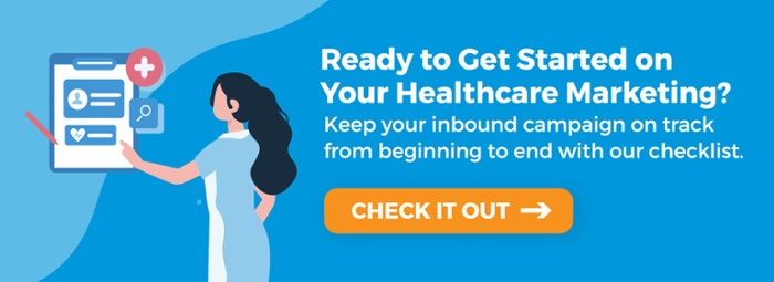 healthcare marketing checklist