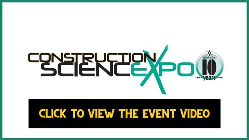 Construction Science Expo Virtual Event
