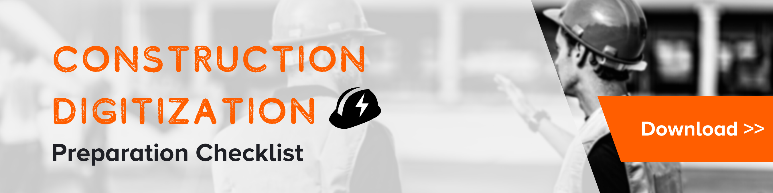 Construction Digitization Preparation Checklost