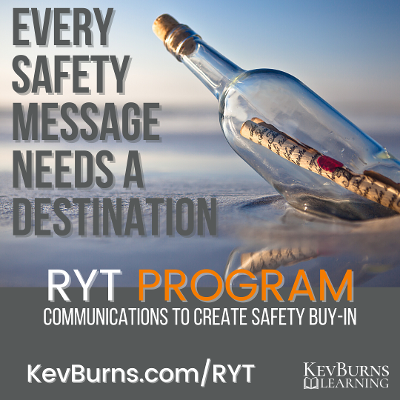 RYT program to create safety communications for buy-in