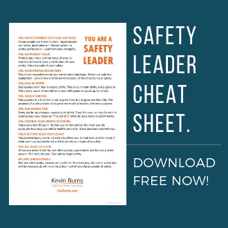 safety leader cheat sheet