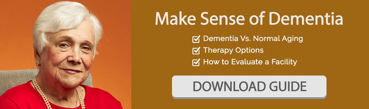 dementia guide - marjorie p lee