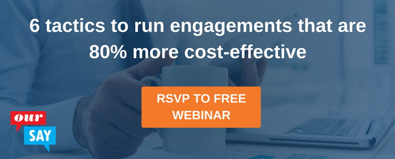 Webinar: Improve participation and engagement