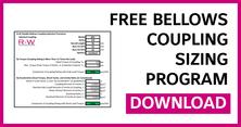 Bellows Coupling Sizing Program