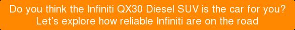 Infiniti QX30 Diesel SUV