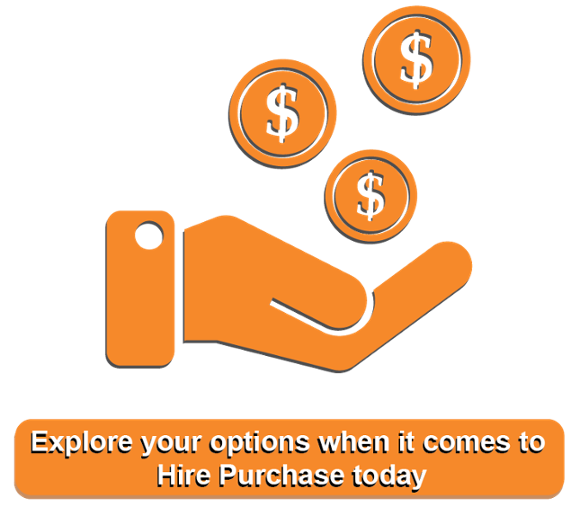 Hire purchase call-to-action