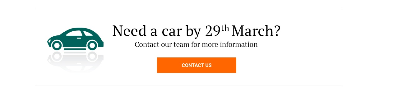 Get in touch to have a chat about your new car