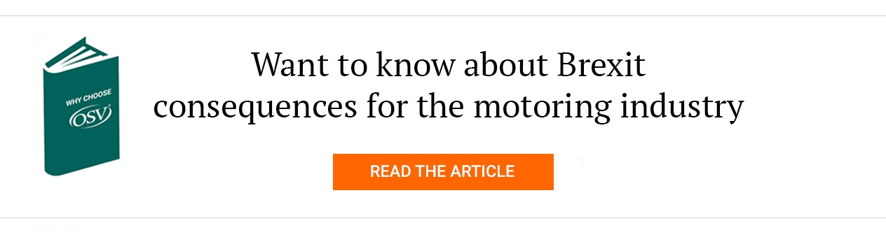 Want to know about Brexit consequences for the motoring industry?