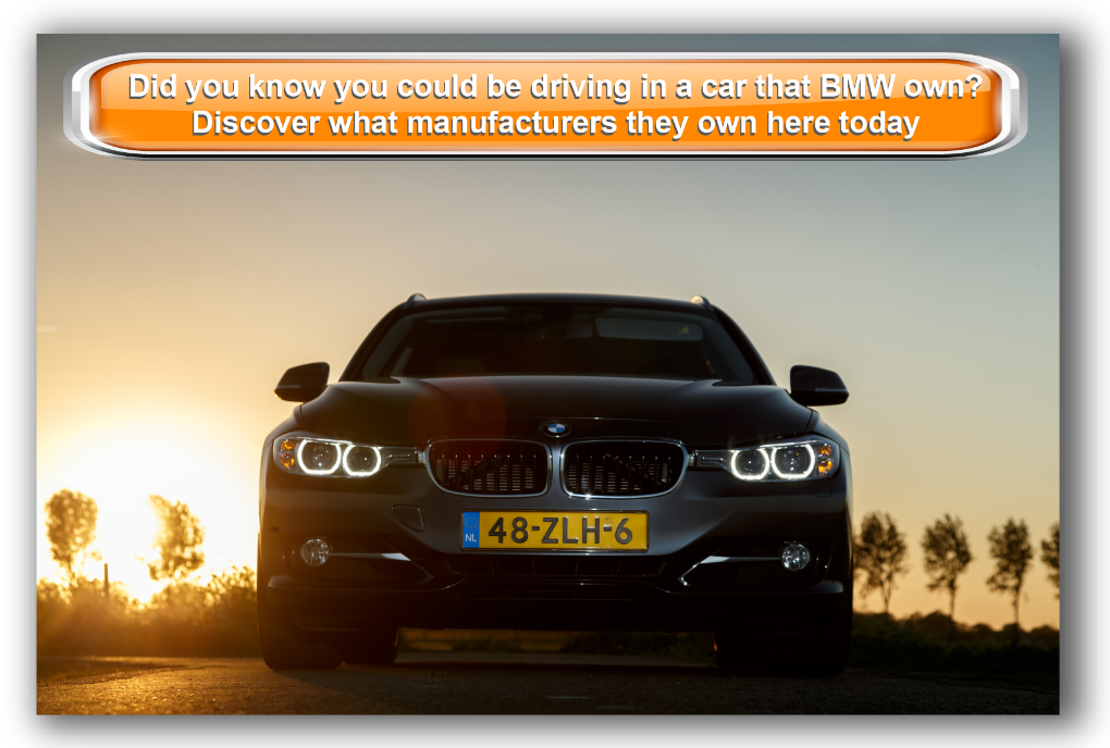 Did you know you could be driving in a car that BMW own? Discover what manufacturers they own here today