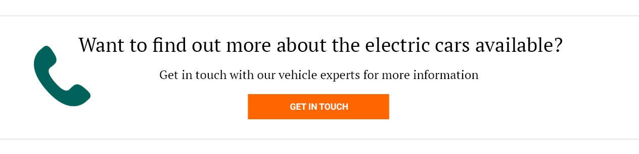 Get in touch if you want to find out more about electric cars