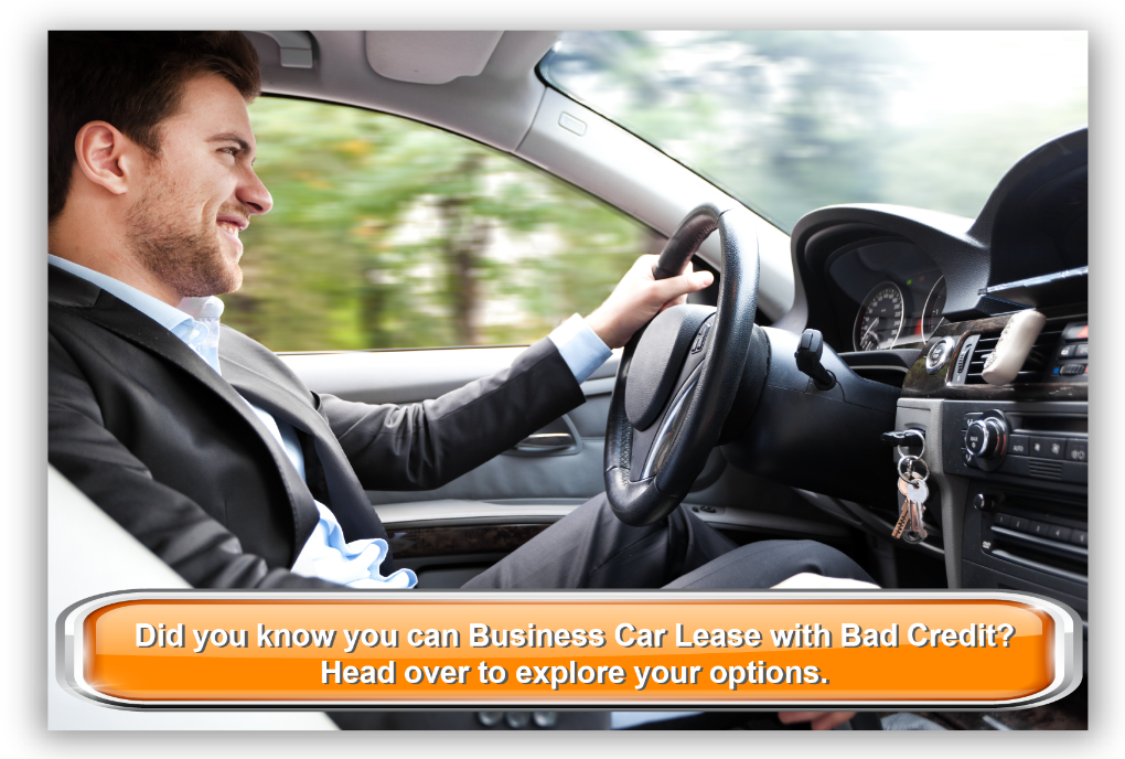 Did you know you can Business Car Lease with Bad Credit? Head over to explore your options.