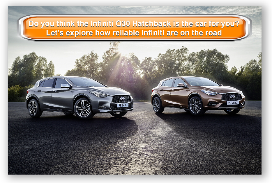 Do you think the Infiniti Q30 Hatchback is the car for you? Let's explore how reliable Infiniti are on the road