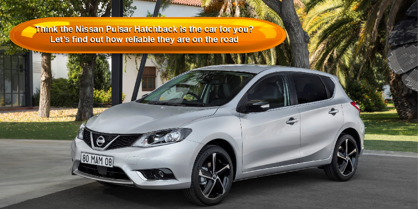 Think the Nissan Pulsar Hatchback is the car for you?  Let's find out how reliable they are on the road