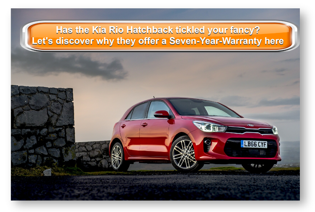 Has theKia Rio Hatchback tickled your fancy? Let's discover why they offer a Seven-Year-Warranty here today