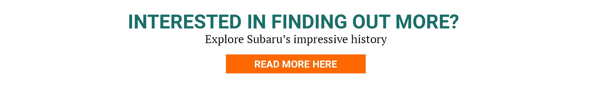 Find out more about the History of Subaru