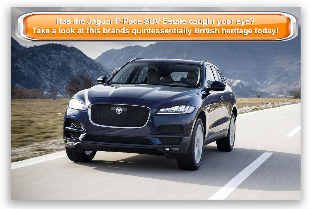 Jaguar F-Pace SUV Estate