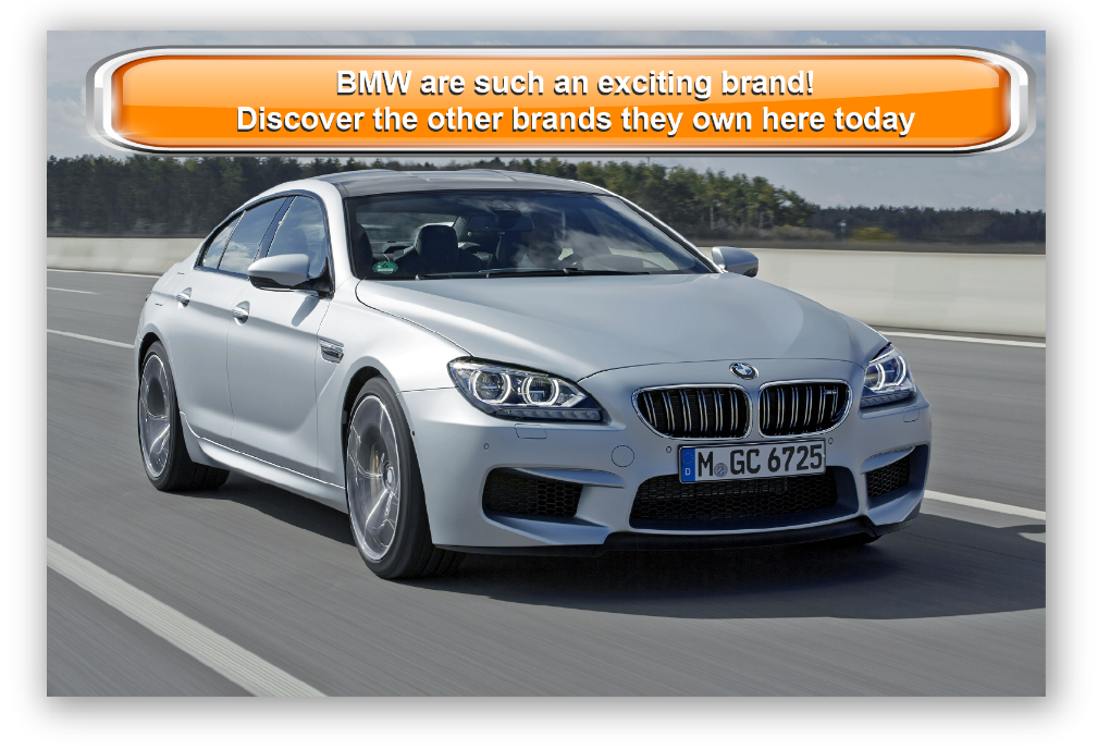 BMW are such an exciting brand! Discover the other brands they own here today