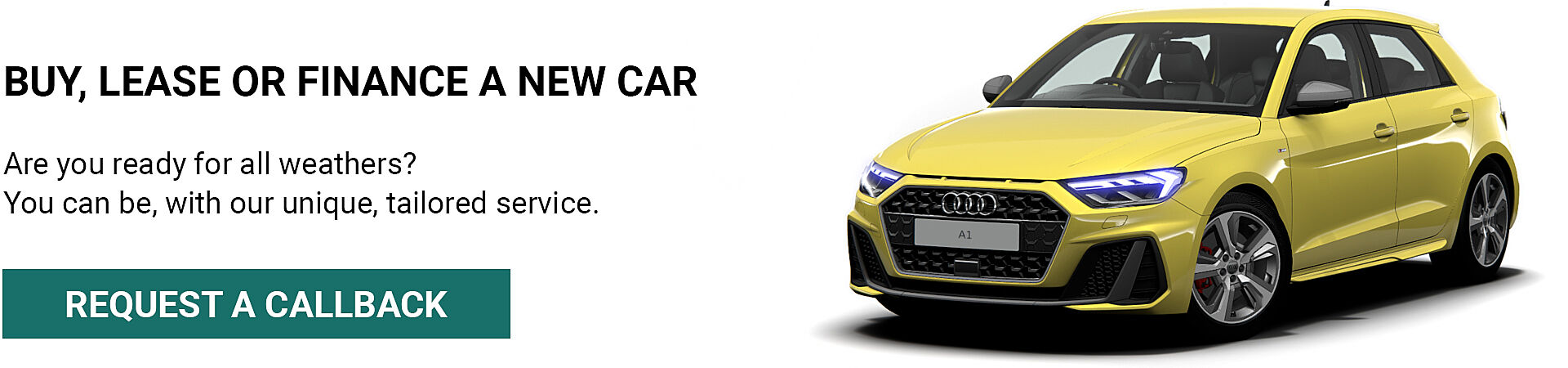Buy, lease or finance a new car
