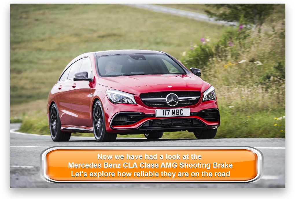 Mercedes Benz CLA Class AMG Shooting Brake