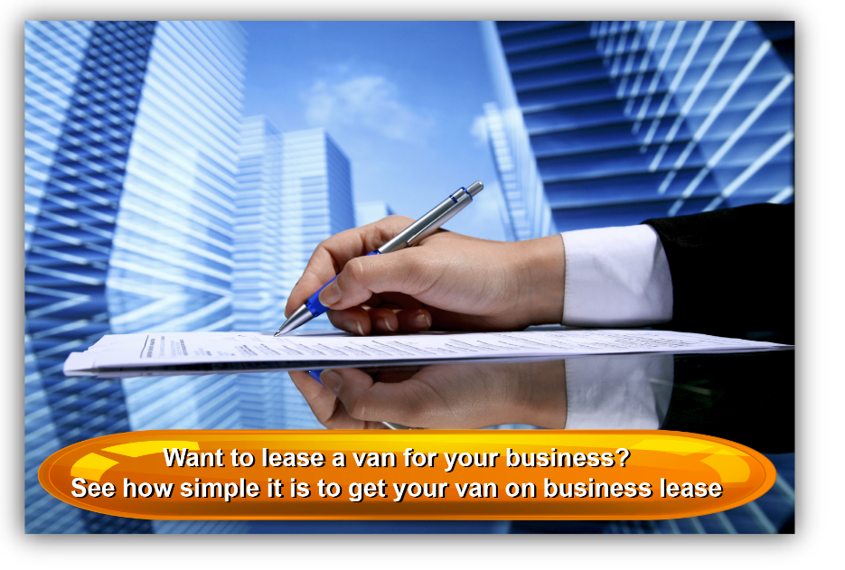 Want to lease a van for your business? See how simple it is to get your van on business lease
